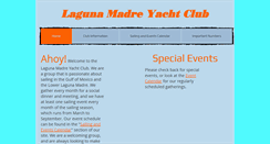 Preview of lagunamadreyachtclub.org