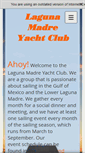 Mobile Preview of lagunamadreyachtclub.org